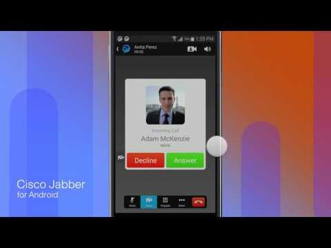 Cisco Jabber For Android 10.6: Voice And Video Calling