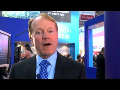John Chambers At Mobile World Congress 2013