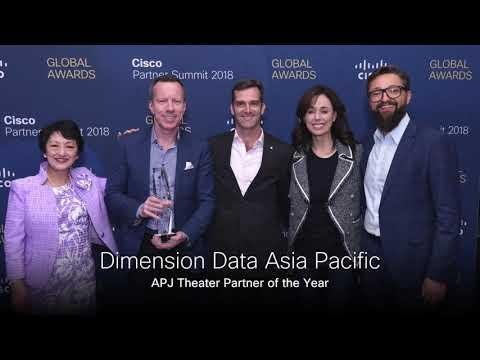 Cisco Global Award Winners At Partner Summit 2018