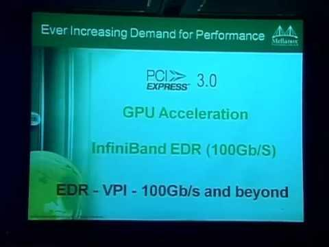 Efficiency And Utilization - Mellanox Technologies Keynote Presentation - Part 2