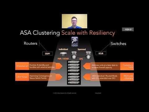 Data Center Firewall - 8 Node ASA Clustering Demo