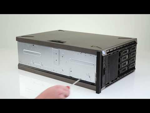Dell EMC PowerEdge T640: Convert To Rack Mode