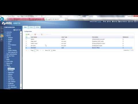 USG How-To Video: User-Based PSK With IPSec VPN