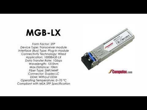 MGB-LX  |  Planet Compatible 1000Base-LX 1310nm 10km SFP