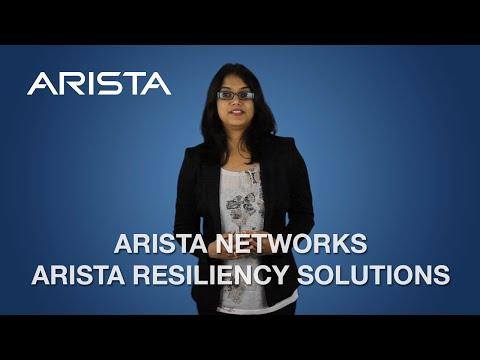 Arista Resiliency Solutions