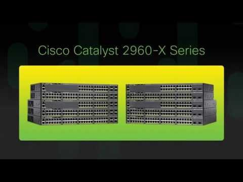 Cisco Catalyst 2960X Series