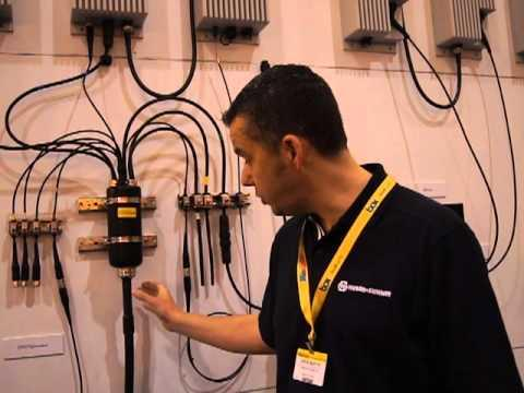 CTIA 2012: Huber Suhner Reviewing Sprint And T-Mobile Hybrid Cable Assembly Deployments