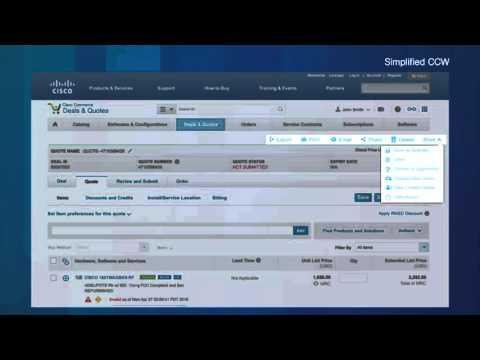 Simplifying The Cisco Commerce User Experience