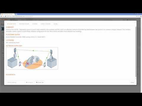 Point To Point Mesh Setup Using Aruba Solution Exchange (ASE)