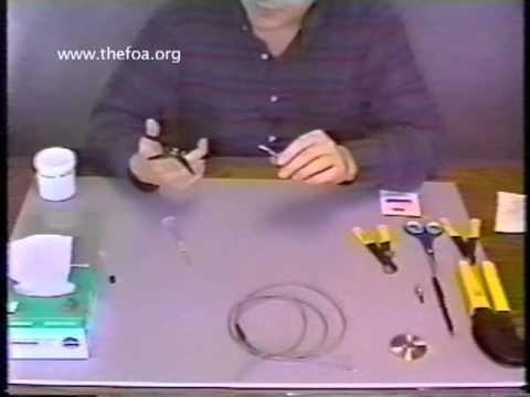 Fiber Optic Termination: Part 3 - Adhesive