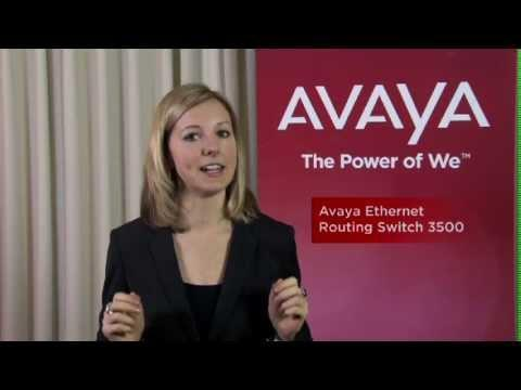 Avaya Ethernet Routing Switch 3500 Series