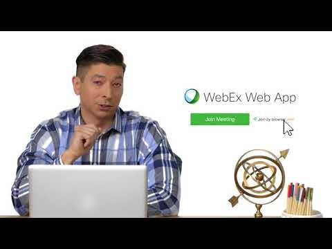 Hassle-free Meetings With The WebEx Web App