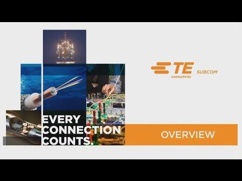 TE SubCom Undersea Cable Network Overview
