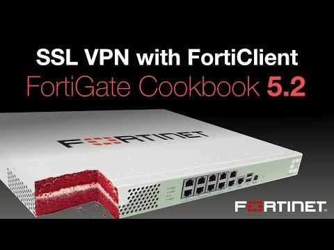 FortiGate Cookbook - SSL VPN Using FortiClient (5.2)