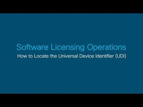 Locating The Universal Device Identifier (UDI)