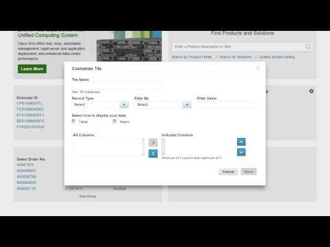Introducing A Customizable Dashboard For Cisco Commerce