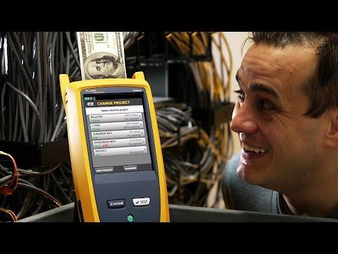 Versiv Cabling Certification Saves You Money - Labor: By Fluke Networks