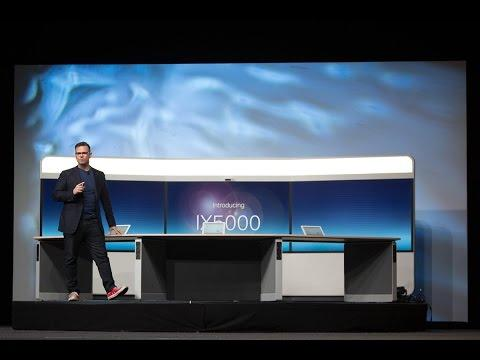 Cisco TelePresence IX5000 Demo | Collaboration Summit 2014 Keynote