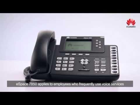Huawei ESpace 7800 Series IP Phone Video