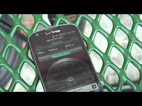 Baltimore 2011: Verizon LTE Vs Sprint WiMAX Speed Test