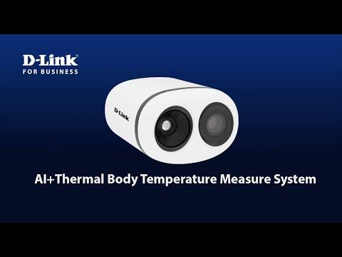 D-Link DCS-P200 AI+Thermal Body Temperature Measure System