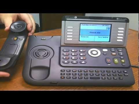 Alcatel-Lucent 4068 IP Phone Overview