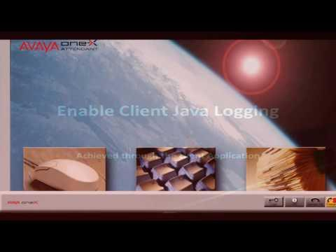 How To Enable Diagnostic Logging And Data Collection On Avaya One-X Attendant R4