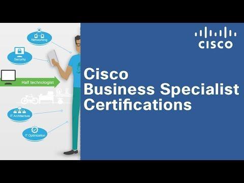 Cisco Business Specialist Certifications