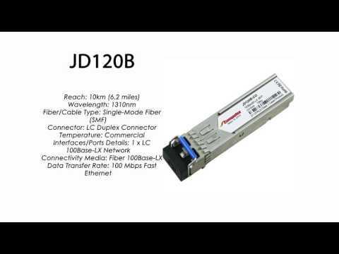 JD120B | HP Compatible 100Base-LX 1310nm 10km SFP