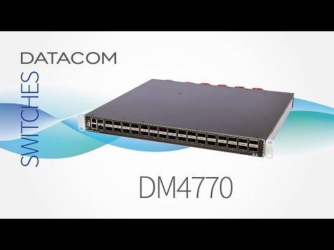 Switch IP/MPLS Com 32x Portas 100 Giga (Unboxing)