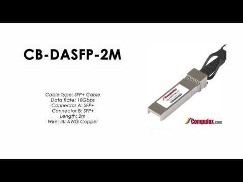 CB-DASFP-2M  |  Planet Compatible 10G SFP+ DAC Cable – 2M