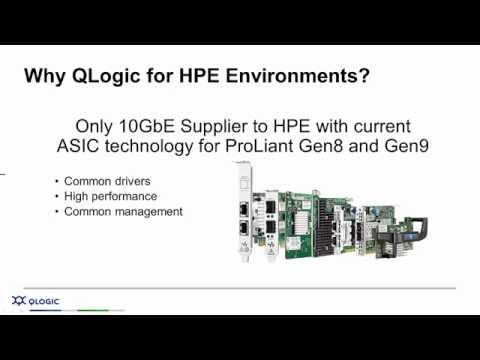 Intelligent I/O Matters: Why QLogic I/O For Hewlett Packard Enterprise (HPE) Environments