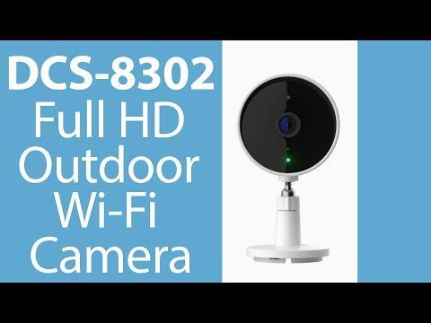 Full HD Ourdoor Wi-Fi Camera | DCS 8302LH | Mydlink