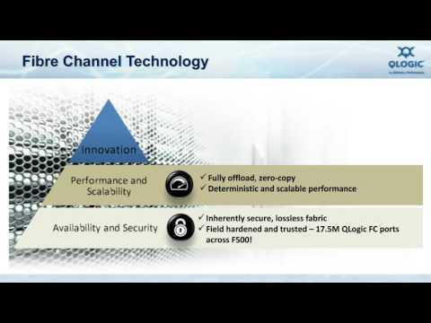 Improving Database Performance With Gen 6 (32Gb) Fibre Channel Webcast