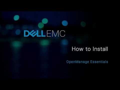 Installing Dell EMC OpenManage Essentials