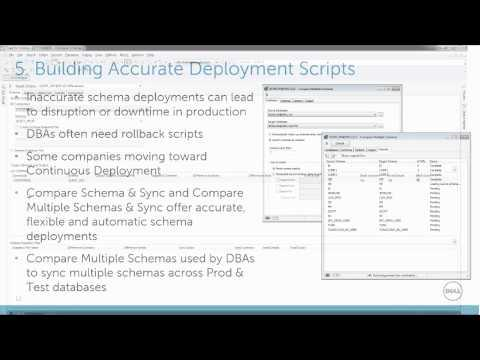 How To Build Accurate Schema Deployment Scripts With Toad For Oracle Xpert Edition