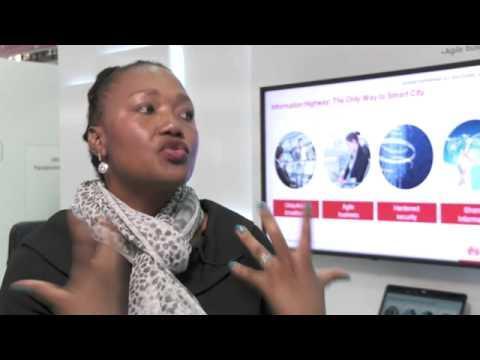 CeBIT 2014:Huawei Helps Tshwane In South Africa Build A Smart City