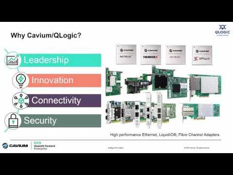 Intelligent I/O Matters - Why QLogic I/O Is The Best Choice For HPE Customers