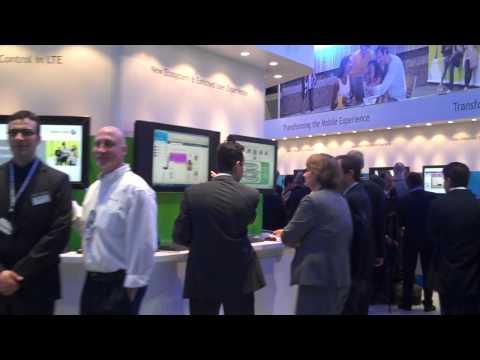 MWC 2010 - Alcatel Lucent Pavilion: LTE Displays/Demonstrations (Hall 8)