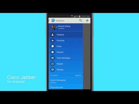 Cisco Jabber For Android 11: Overview