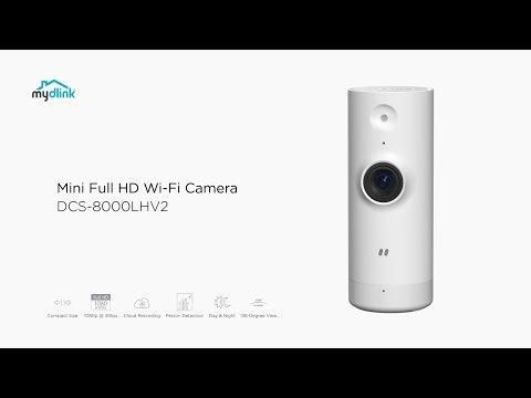 Mydlink DCS-8000LHV2 Mini Full HD Wi-Fi Camera
