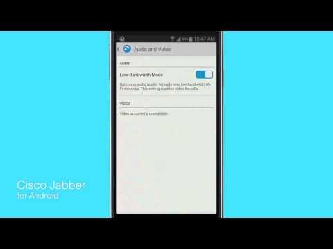 Cisco Jabber For Android 11: Customizing