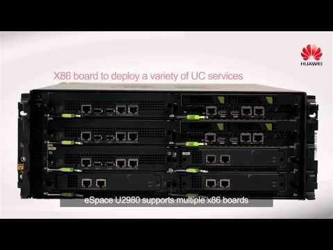 Huawei ESpace U2900 Series Unified Gateways Introduction