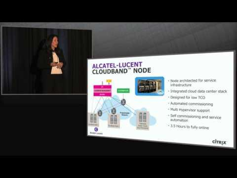 High Performance, Carrier-Grade Solutions For The Cloud With Alcatel-Lucent