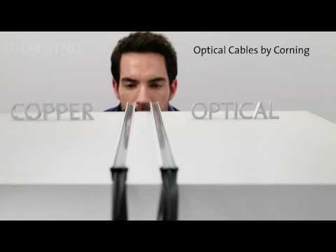 Thunderbolt™ Optical Cables By Corning - Cables Just Got Thinner.