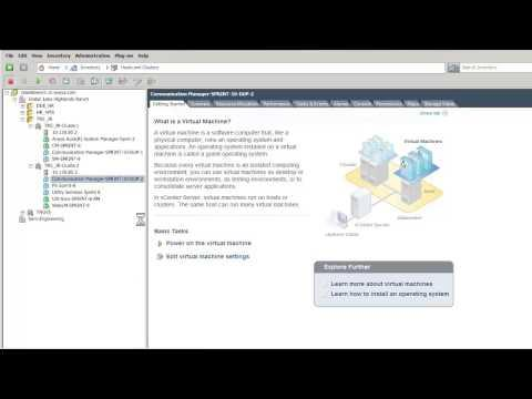 How To Install The Avaya Aura® Communication Manager Duplex Virtual Appliance
