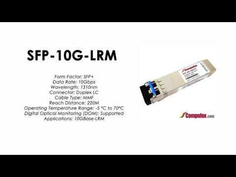 SFP-10G-LRM  |  Alcatel Compatible 10GBase-LRM 1310nm 220m  SFP+
