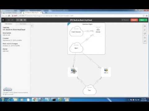 Spirent Velocity 5.1:  Virtual Template Synchronization