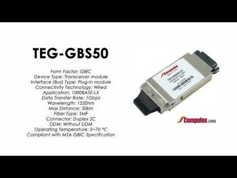 TEG-GBS50  |  TRENDnet Compatible 1000Base-LX 1550nm 50km GBIC