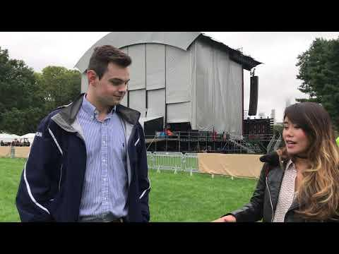 Behind The Scenes At Global Citizen Festival With Cisco Networking Academy Students